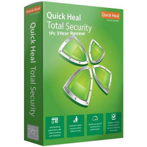 Quick Heal Total Security 1 User 3 Years Renewal