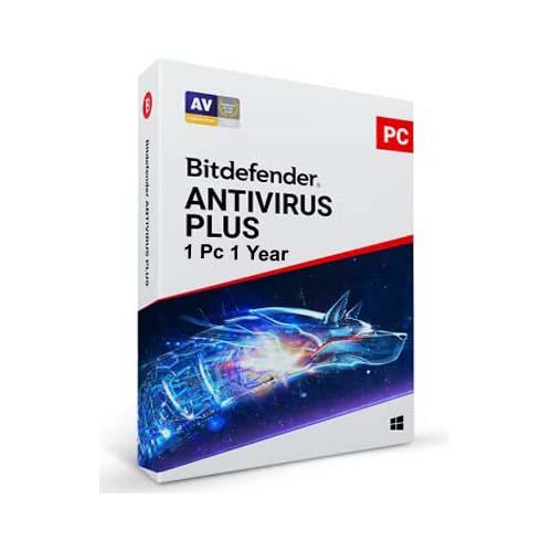 Bitdefender Antivirus Plus 1 User 1 Year