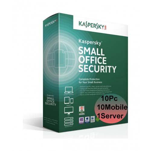 Kaspersky Small Office Security 10 Pc
