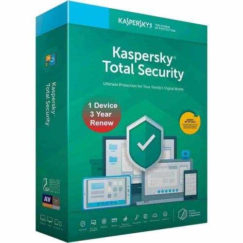 Kaspersky Total Security 1 User 3 Years Renewal