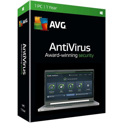 AVG Antivirus 1 User 1 Year Renewal