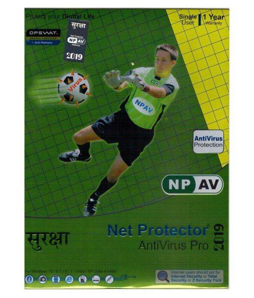 Net Protector Antivirus 1 User 1 Year