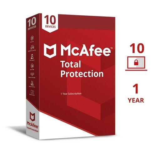 Mcafee Antivirus (1pc 1 year)