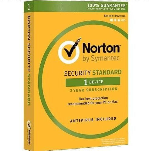 Norton 360 Standard 1 User 3 Years
