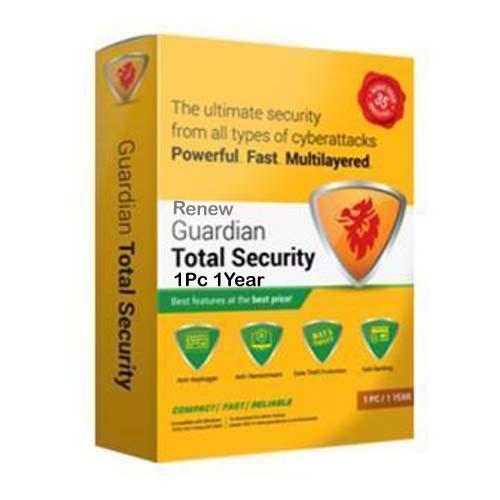 Renew Guardian Total Security 1 User 1 Year